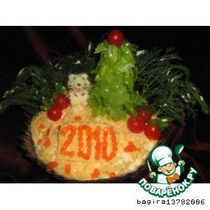 """Рецепт: Салат """"2010 """""""
