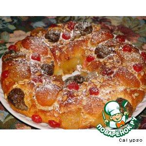"Рецепт: Царский пирог  ""Bolo Rei"""