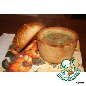 Рецепт: Гороховый суп