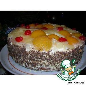 """Рецепт: Торт """"Творожное чудо"""""""