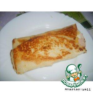 Рецепт: Завтрак А-ля Буритос