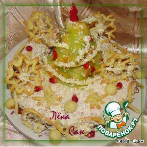 Рецепт: Закусочный торт Метелица