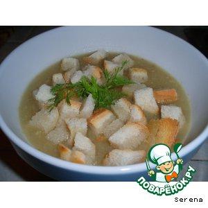 Рецепт: Суп-пюре из фенхеля с миндальным орехом