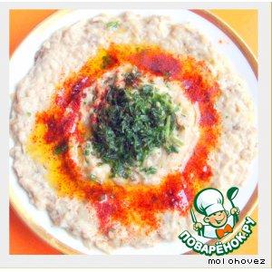 Рецепт: Закуска из баклажанов Баба гануш