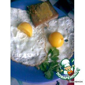 Рецепт: Необычная яичница