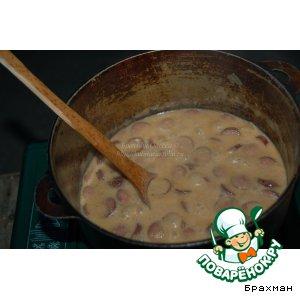 Баварский пивной суп на скорую руку