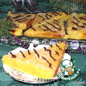 Апельсиновые пирожные По следу тигра