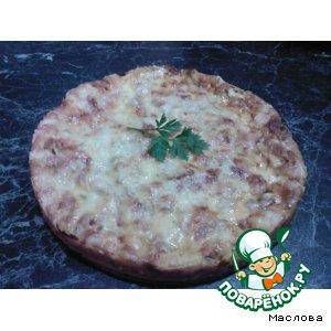 Рецепт: Очень быстрая пицца