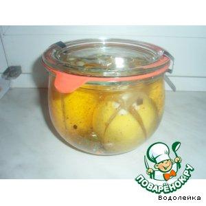 Рецепт: Лимоны для закуски