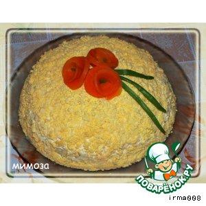 Рецепт: Легкая мимоза