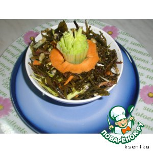 Рецепт: Морской полезный салатик