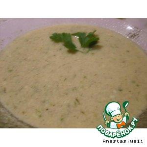 Рецепт: Суп-крем из шампиньонов