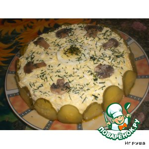 Рецепт: Салат Улeт!