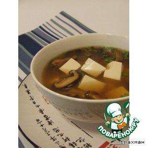 Рецепт: Мисо-суп с шиитаке