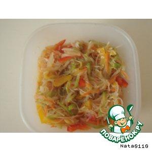 Рецепт: Салат из фунчeзы