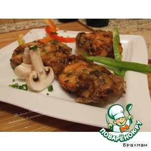 Рецепт: Курица с сюрпризом. Zhi Bao Ji