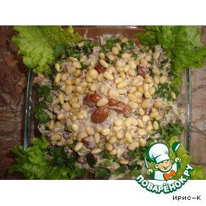 """Рецепт: Салат мясной """"Январь"""""""