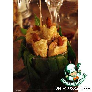 Рецепт: Закусочные свечки из лука-порея
