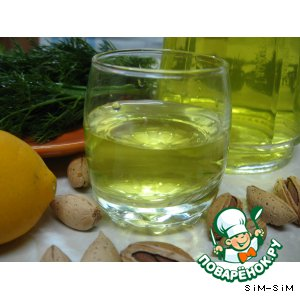 Рецепт: Настойка лимонно-мятная