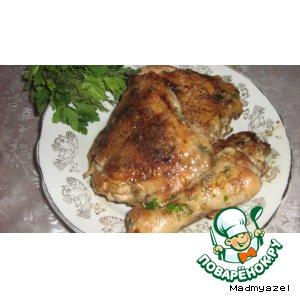 Рецепт: Цыпленок Тапака