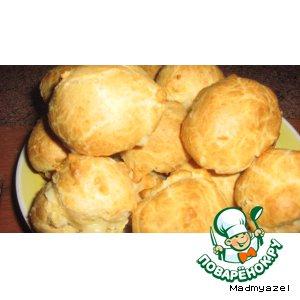 Рецепт: Заварные пирожные по английскому рецепту
