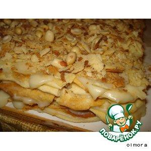 Рецепт: Торт Наполеон «Семейный»