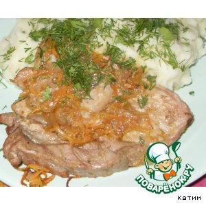 Рецепт: Запеченная свинина с овощами