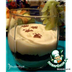 Рецепт: Десерт «Тигренок не пробегал?»