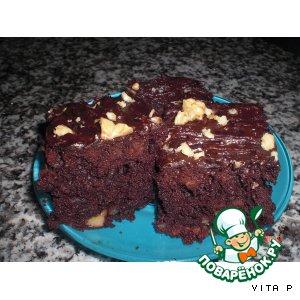Рецепт: Самый шоколадный брауни