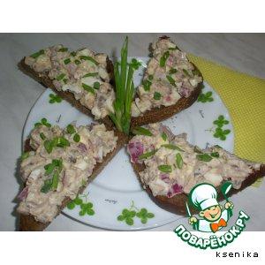 Рецепт: Бутербродный салат