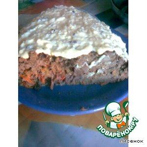 Рецепт: Суфле из печени