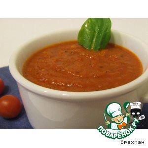 Рецепт: Зимний томатный соус