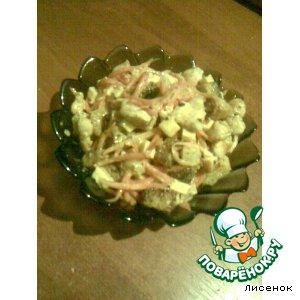 Рецепт: Салат Озорной цыпленок