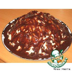 Рецепт: Торт «Горка»