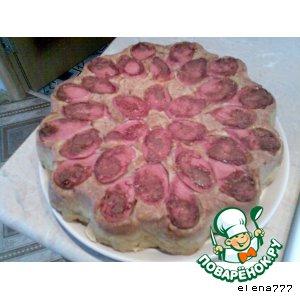 """Рецепт: Пирог на кефире """"Звeздный"""""""