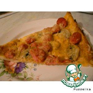 """Рецепт: Пицца """"Белиссимо"""""""