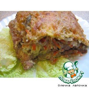 Рецепт: Картофельно-мясная запеканка