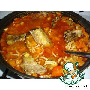 Рецепт: Фидеос (fideos)