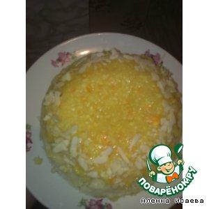 Рецепт: Пирог в микроволновке Апельсин