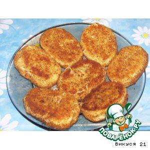 Рецепт: Картофельные котлетки с грибами