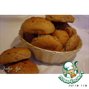 Рецепт: Ржаные булочки с сыром и луком