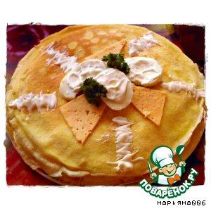 Рецепт: Мой блинный торт