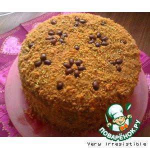 Рецепт: Торт Кофейный оазис