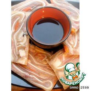 Рецепт: Прессованные свиные уши Чжу Эр До