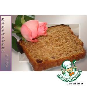 Рецепт: КАРЕЛЬСКИЙ хлеб (самый вкусный хлеб из доселе выпеченных мной)