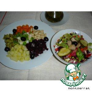 Рецепт Винегрет овощной