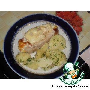 Рецепт: Свинина, запеченная с сыром