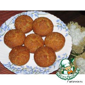 Рецепт: Бананово-кокосовые маффины