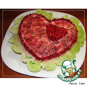 """Рецепт: Салат """"С любовью!"""""""