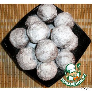 Рецепт: Шоколадные шарики